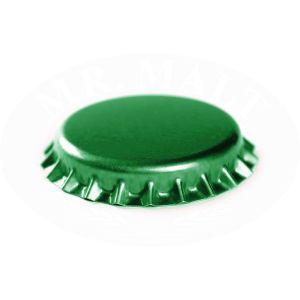 Tappi corona verde, D. 29 mm - 100 pz.